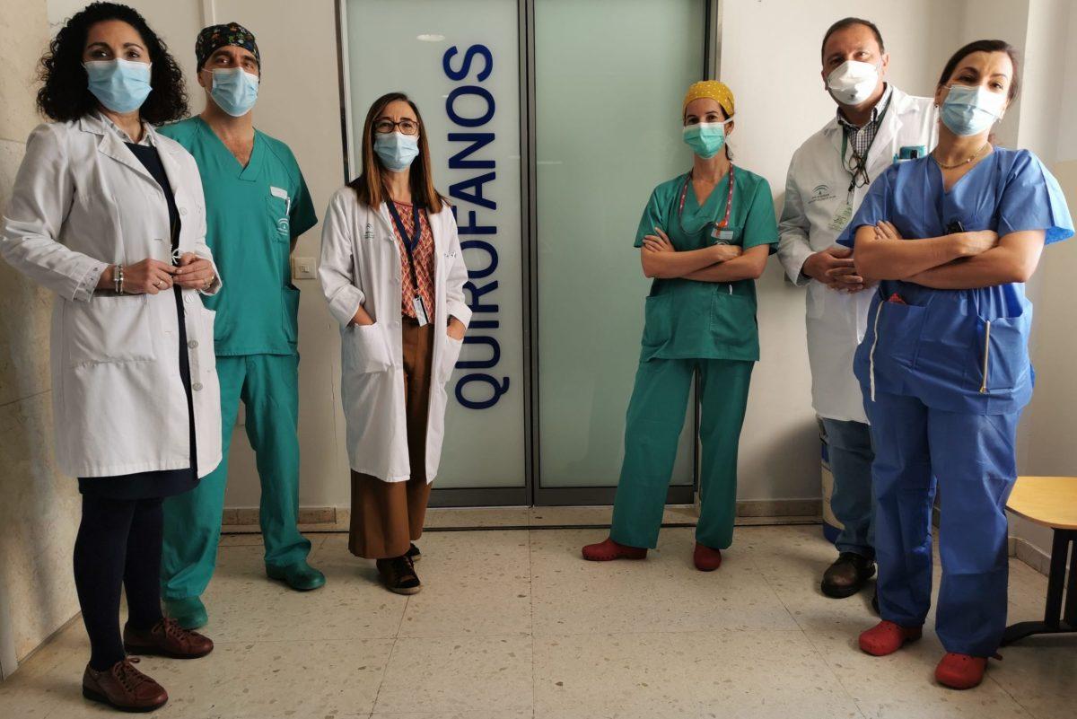 Profesionales integrantes de la Unidad de Ginecología Oncológica