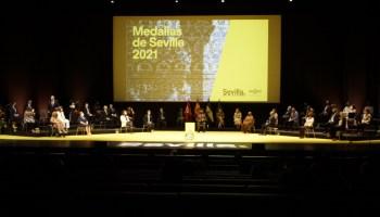 Medallas de Sevilla 2021 / Ayto.