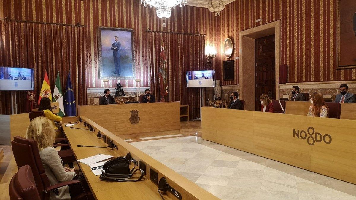 Pleno Municipal del Ayuntamiento de Sevilla