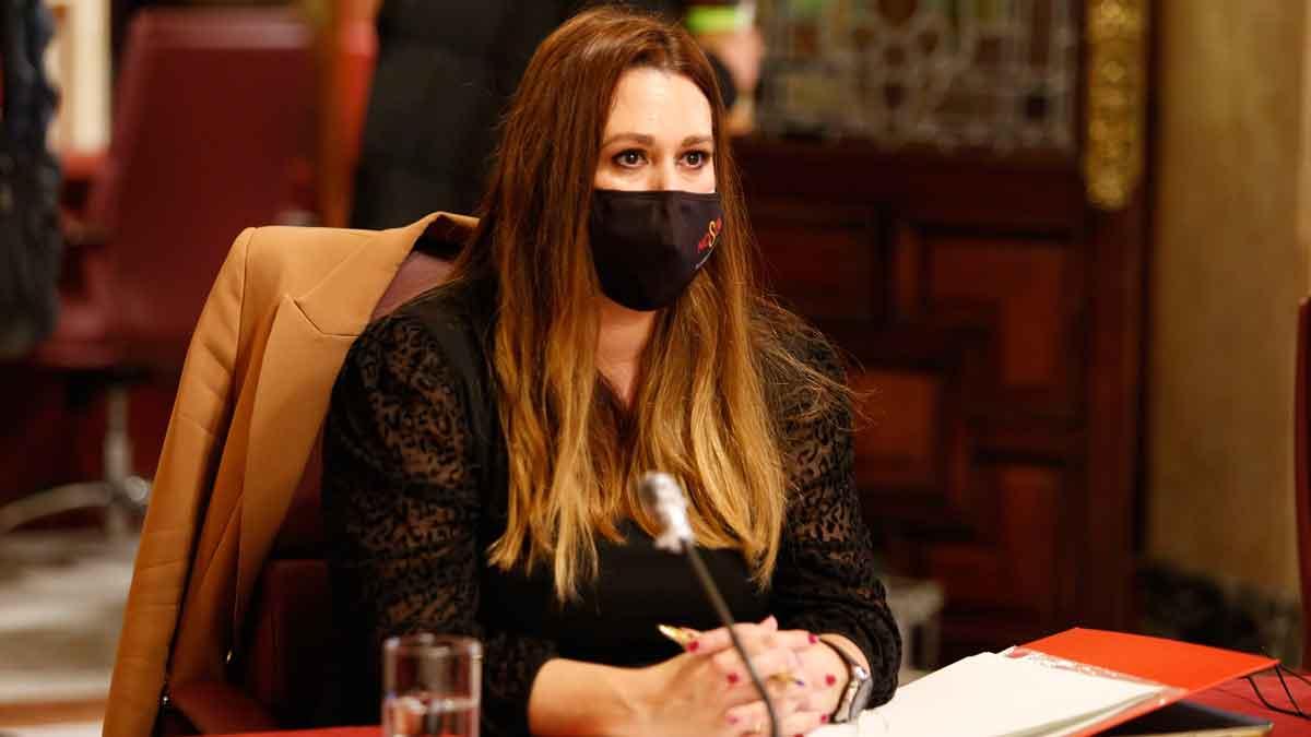La delegada de Educación Marisa Gómez