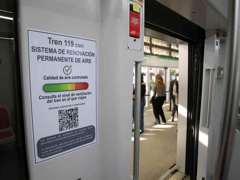 Calidad del aire en el Metro / Junta de Andalucía