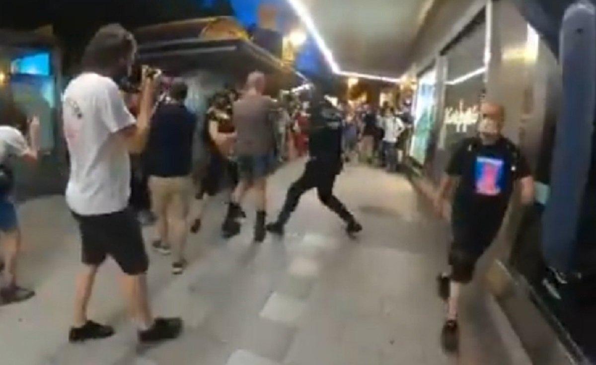 cargas policiales
