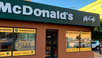 Nuevo local de McDonald's en Torcuato Luca de Tena