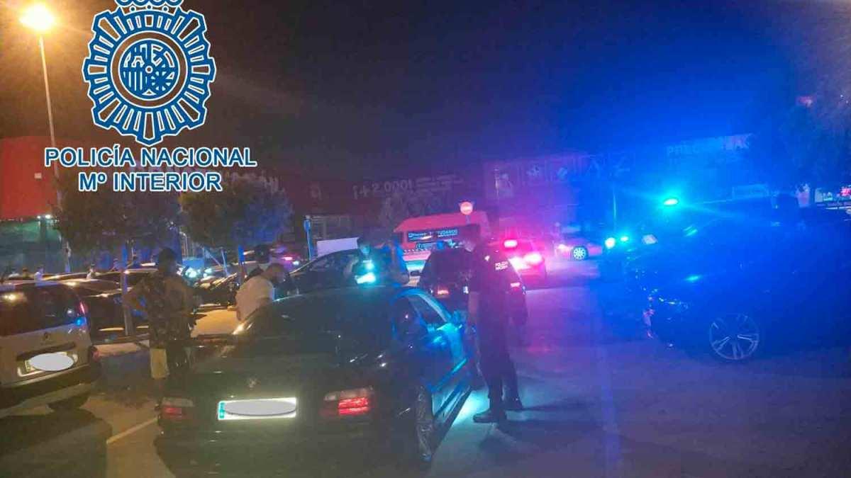 Carreras ilegales en Sevilla