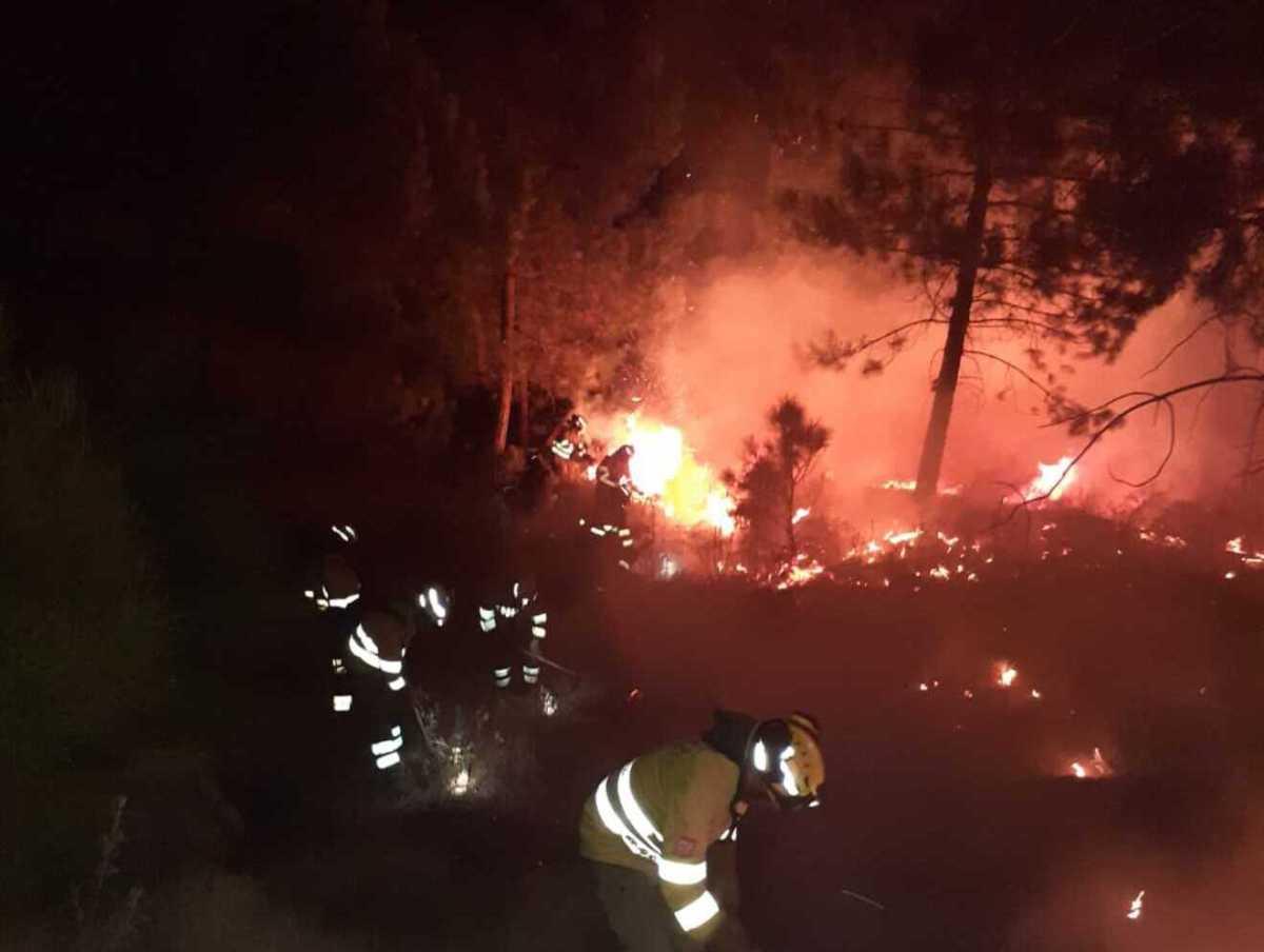 Incendio en Sierra Bermeja / Infoca