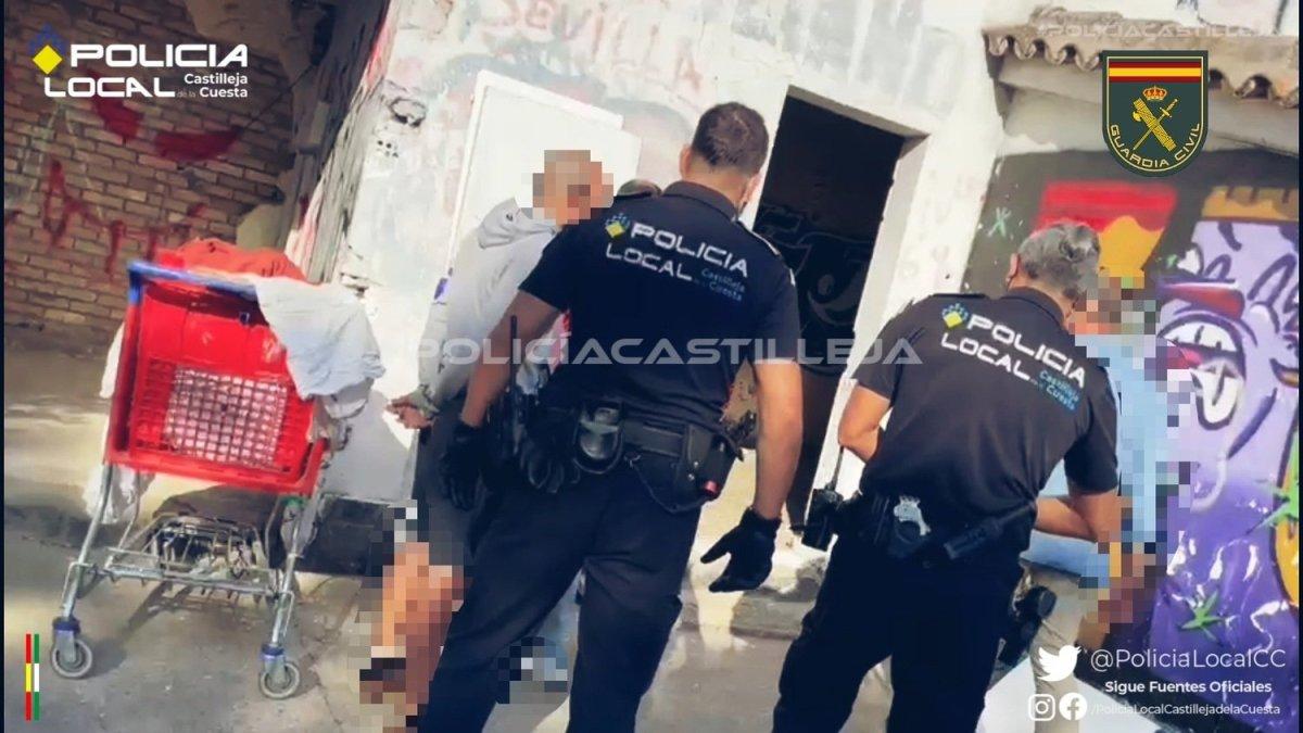 Detenido por robo en Castilleja de la Cuesta / P. Local