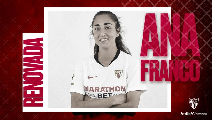 Ana Franco, jugadora Sevilla FC