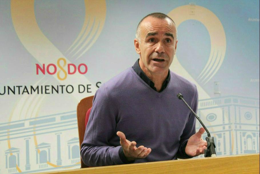 Antonio Muñoz, delegado de Hábitat Urbano del Ayuntamiento de Sevilla.