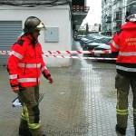 Más de 50 incidencias por inundaciones e incendios por la caída de rayos