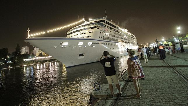 1.600 cruceristas llegarán a Sevilla a partir de este sábado.
