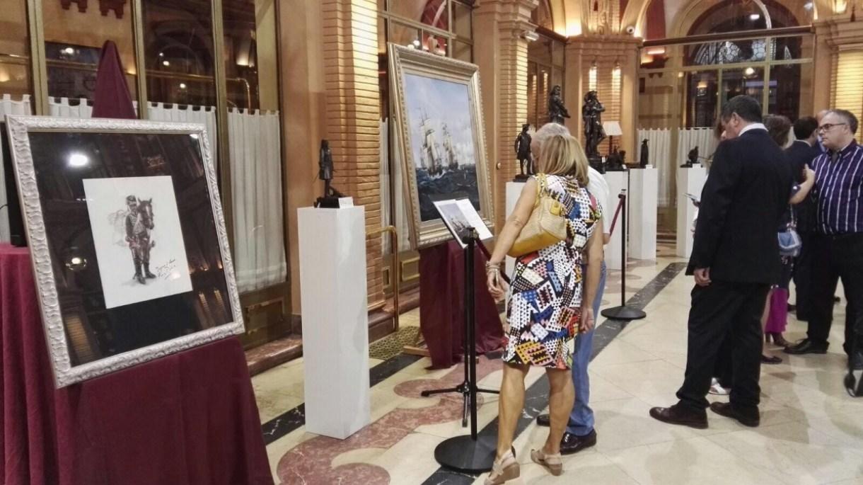 La exposición se puede contemplar en el Círculo de Labradores hasta el próximo 20 de octubre.