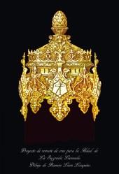 Casquillo nuevo cruz Cristo Lanzada   Hermandad Lanzada