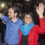 """Convocan una protesta para """"recibir"""" a Pablo Iglesias en Sevilla"""