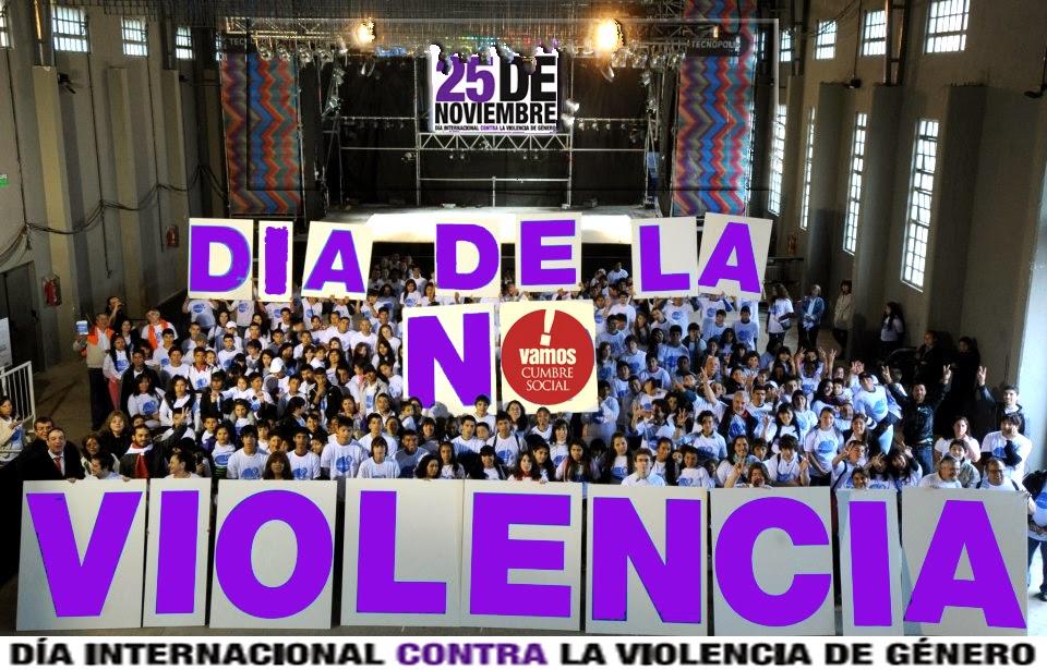 25 de noviembre Dia Internacional contra la Violencia de Género