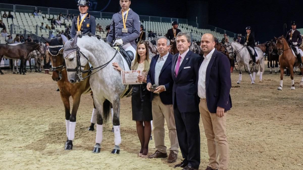 Mejor ganaderia criadora de la Copa ANCCE de Doma Clasica Yeguada Arroyomonte