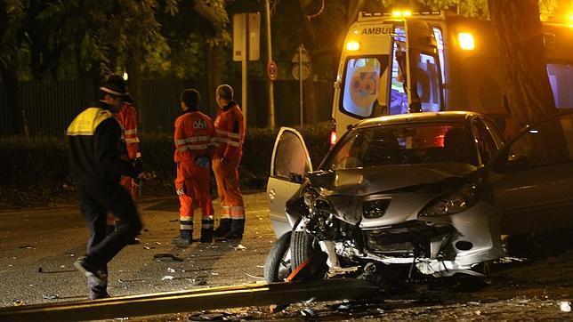 Accidente en Torreblanca.