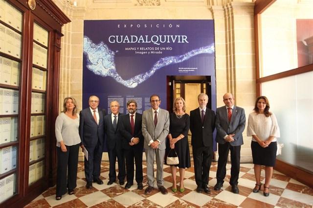 Exposición sobre el Guadalquivir en el Archivo de Indias.
