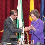 El guiño monárquico del Rector de la Universidad de Sevilla a la Reina Sofía