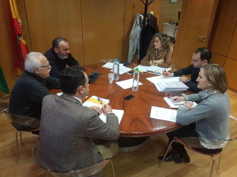 Comisión negociadora del presupuesto municipal de Sevilla 2018