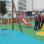 Nueva zona de juegos infantiles en Cerro-Amate