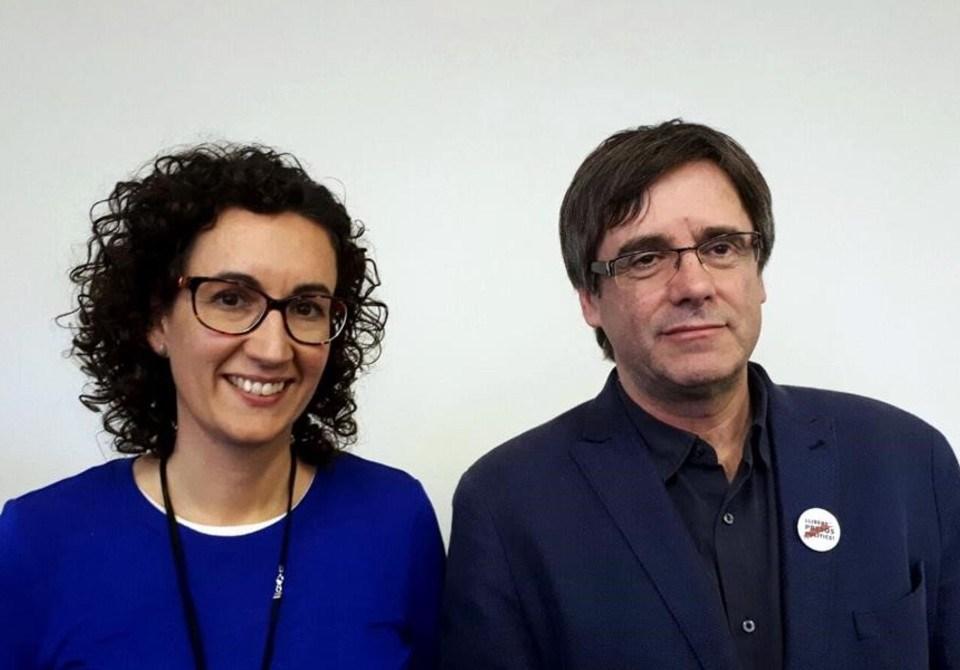Puigdemont y Rovira se reunieron en Bruselas