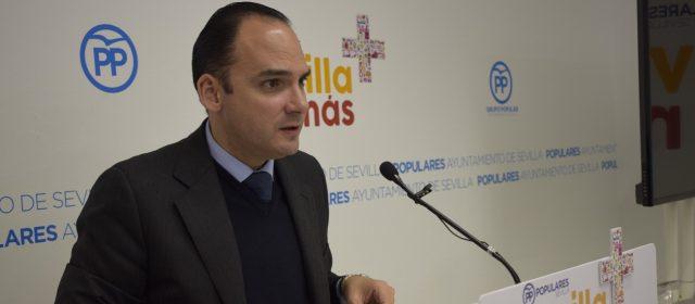 El concejal del PP Rafael Belmonte