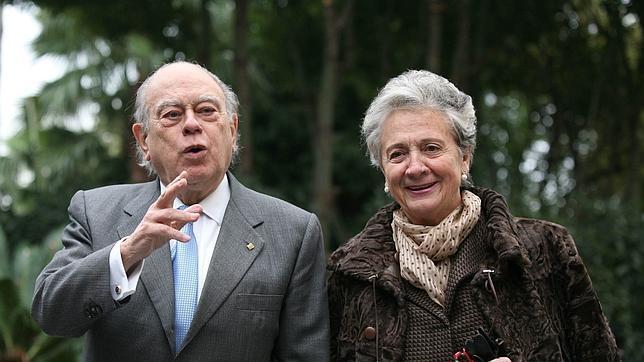 Jordi Pujol y Marta Ferrusola
