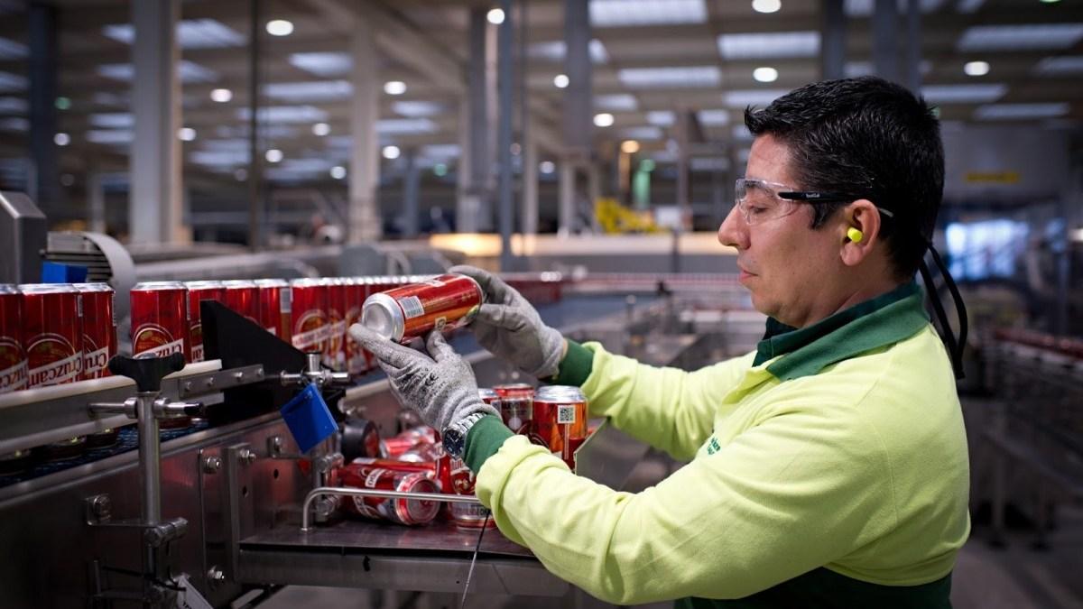 81 empleos de la fábrica de Heineken en Sevilla, en peligro . Foto: El faro de la Seguridad