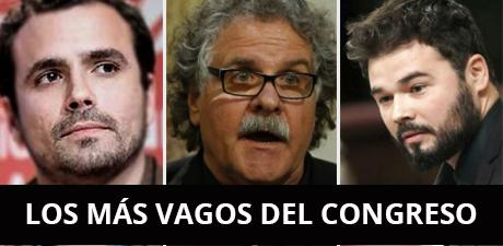 """""""Los diputados más vagos del Congreso"""", según hazteOir"""