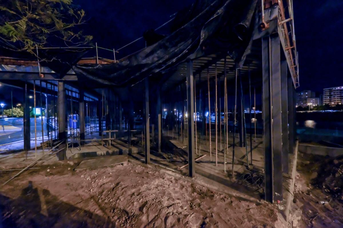 La empresa solicitó la instalación de un módulo prefabricado, todo lo contrario a lo que se construye en la actualidad. Foto: Lince