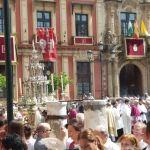 Dos procesiones para el Corpus y una de Gloria el fin de semana