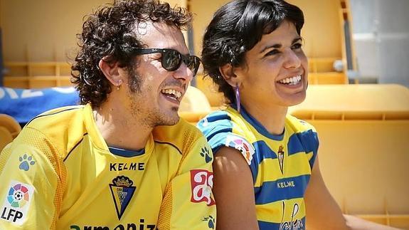 """José María González """"Kichi"""" y su pareja Teresa Rodríguez"""
