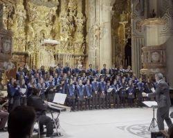 Espectacular recital del Coro del Colegio Internacional Europa en la Iglesia del Salvador