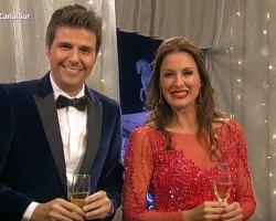 Eva Ruiz se viste de Iván Campaña para dar Las Campanadas en Canal Sur