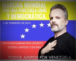 Miguel Bosé cuelga en Twitter un crudo vídeo contra Nicolás Maduro