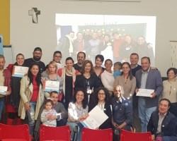 La Fundación New Health y Cáritas finalizan el primer curso de cuidadores a domicilio especializados en enfermos paliativos