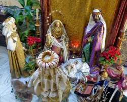 Los Reyes Magos adoran al Niño en casa de Rogelio Gómez Trifón