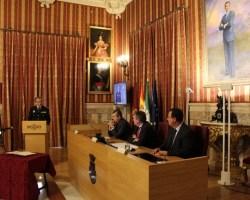 Toma posesión del nuevo jefe de la Policía Local de Sevilla José Medina Arteaga