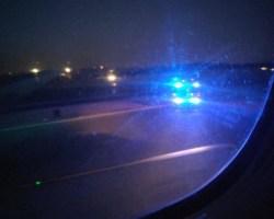 """""""Conseguidooo"""". Los vídeos de un pasajero del avión de Air Canada"""