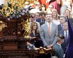 El Rey se interesa por las hermandades de Sevilla