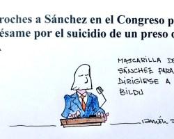 La mascarilla de Sánchez