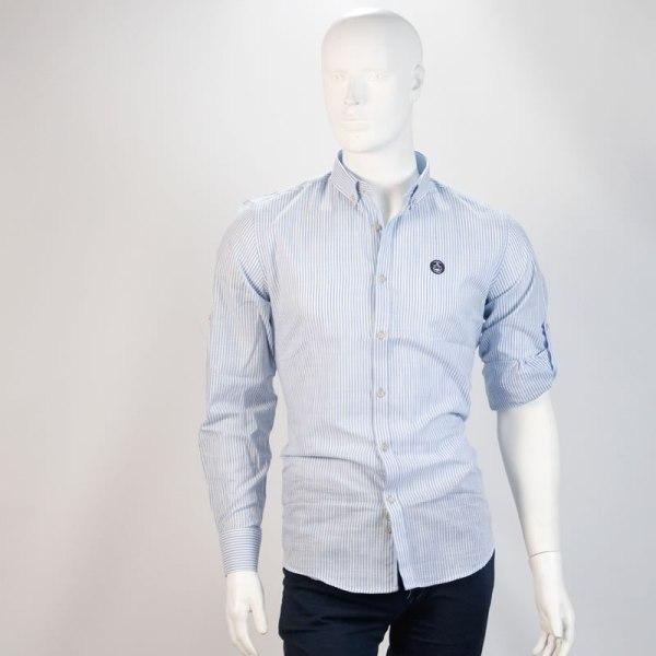 Sevillano y Molina – Tienda online moda hombre – Camisa Macarelleta Celeste