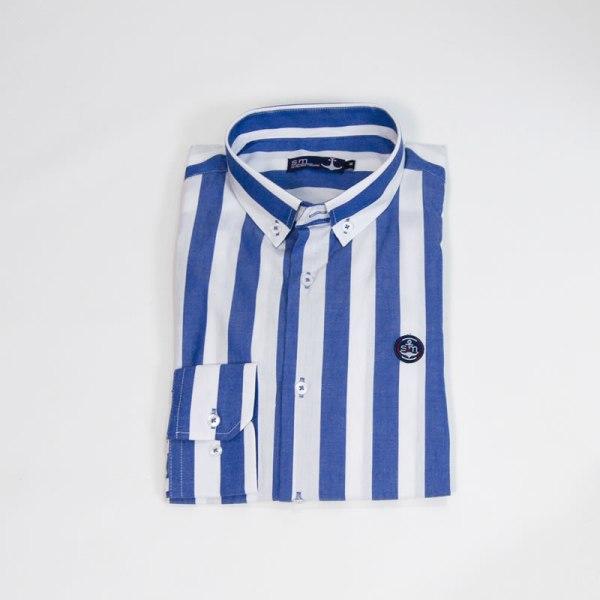 Sevillano y Molina – Tienda online moda hombre – Camisa Simikab Azulón