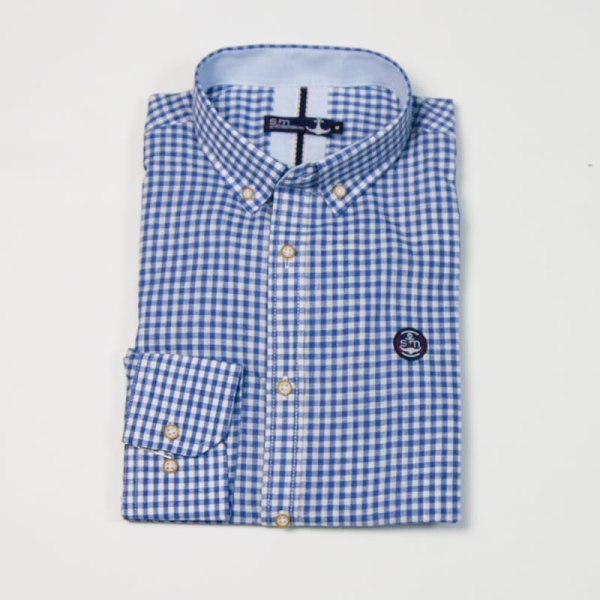 Sevillano y Molina – Tienda online moda hombre – Camisa Bora Bora Azulón – Poleras Hombre