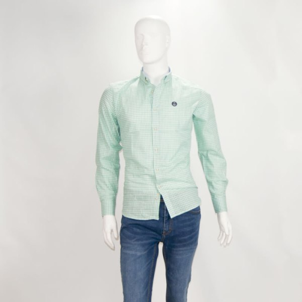 Sevillano y Molina – Tienda online moda hombre – Camisa Bora Bora Verde – Poleras Hombre