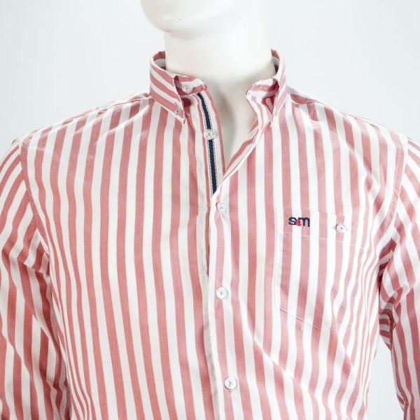Sevillano y Molina – Camisa Elafonisi Rojo