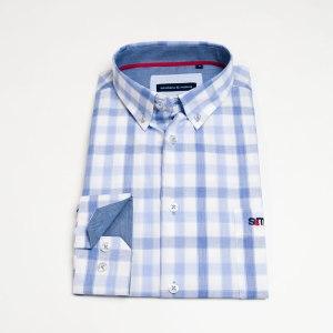 Sevillano y Molina - Camisa Corralejo Azul