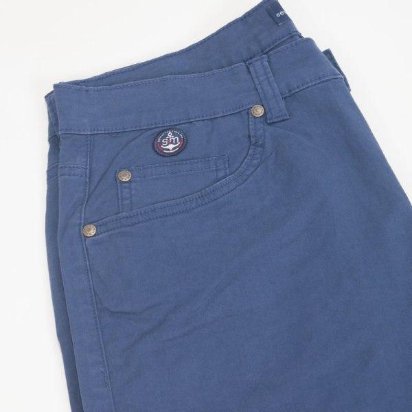 Sevillano y Molina – Pantalón 5 bolsillos Crusoe Azul