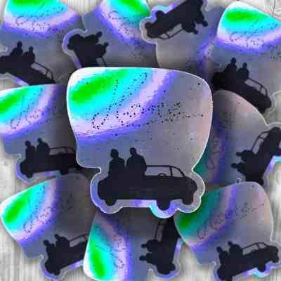 Supernatural Holographic Home Sticker