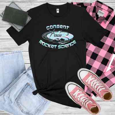 Rocket Science Holographic T-Shirt